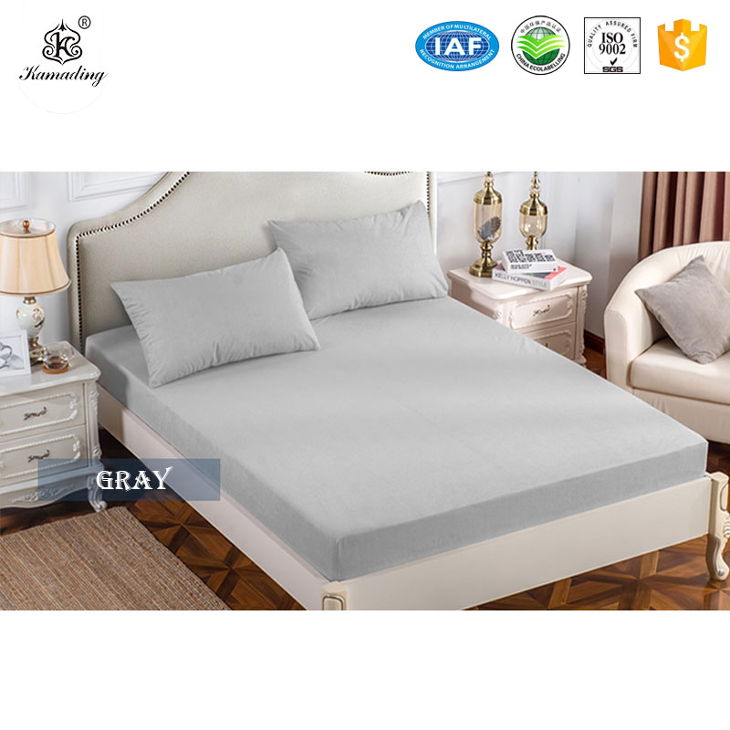 Good Wholesale Vendors Polyester Cooling Towel - Full Size 100% Terry Cotton Smooth Waterproof Mattress Protector For Bed Wetting – Meishi
