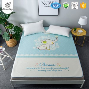 Kamading Waterproof Twin Full Queen King Bed Waterproof flat sheet for Bed Wetting