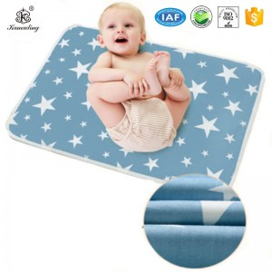 Personlized Products Waterproof Mattress Protector   Printing Cotton Diaper Changing Pad Waterproof  Indeformable Baby Products