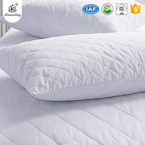 KAMADING Waterproof Pillow Protectors Bed bug Control Zippered Quilted Style Pillow Covers