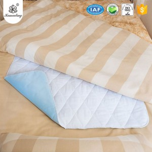 Personlized Products Waterproof Mattress Protector  Quilted baby sleeping pad soft cotton waterproof pad