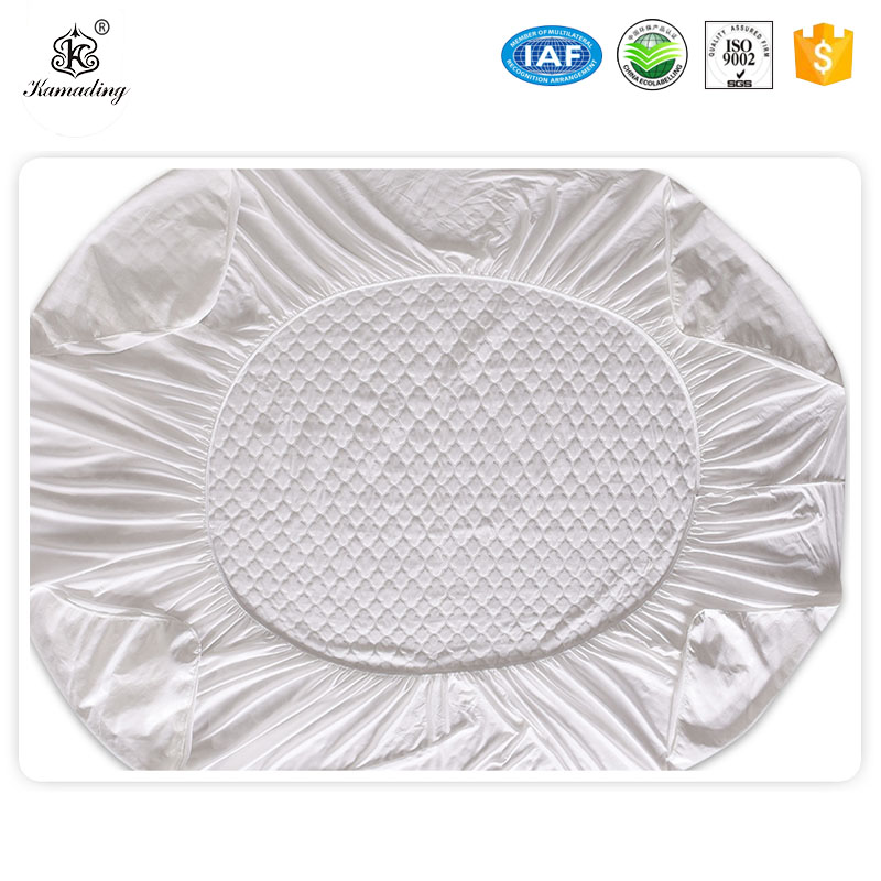 PriceList for Microfiber Fabric Duvet - Personlized Products Waterproof Mattress Protector   Jacquard cloth mattress cover comfortable protective pad fixed smooth waterproof mattress – Meishi