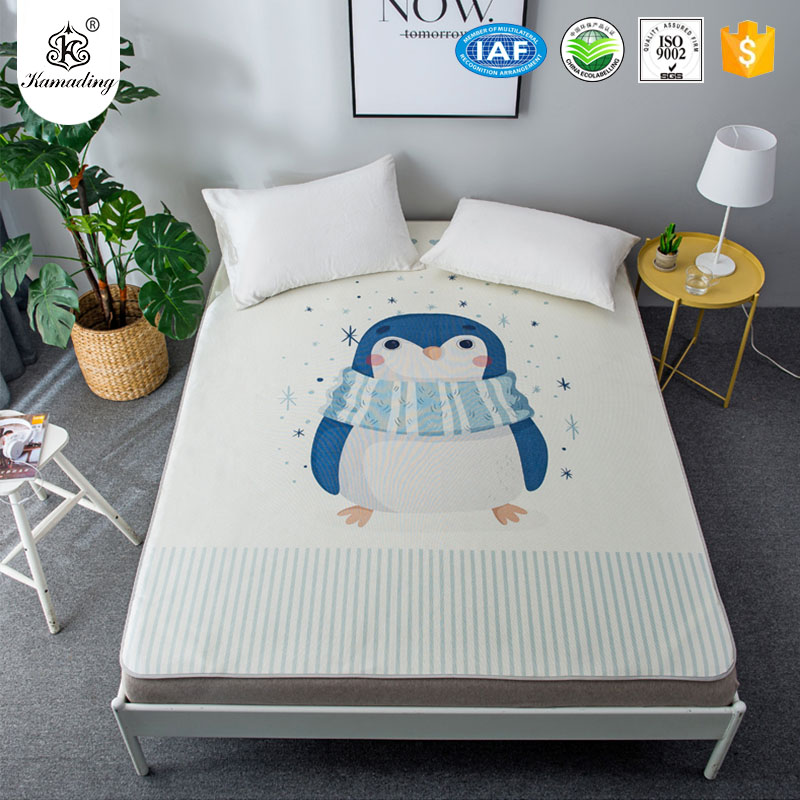 2017 wholesale price Hotel Soft Mattress Pad - Kamading Waterproof Twin Full Queen King Bed Waterproof flat sheet for Bed Wetting – Meishi