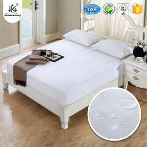 factory Outlets for Spa Hotel Terry Towel Slipper - Kamading Waterproof Bug Dust Prevention terry mattress cover  – Meishi