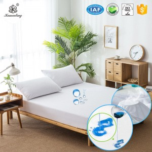 factory low price Hand Towel With Embroidery Logo - Full Size Mattress Pad Hypoallergenic Mattress Pad Waterproof Mattress Pad – Meishi