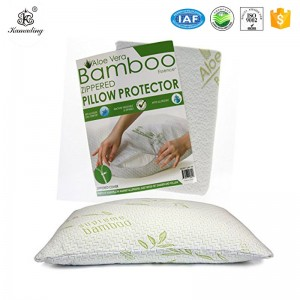 waterproof bamboo pillow cover