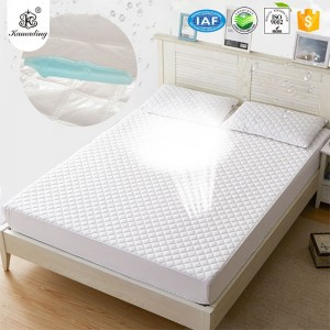 Hot New Products  New Printed Cotton Comforter Bed Sheet Set Bedding Sets  KAMADING Waterproof Pillow Protectors Bed bug Control Zippered Quilted Style Pillow Covers