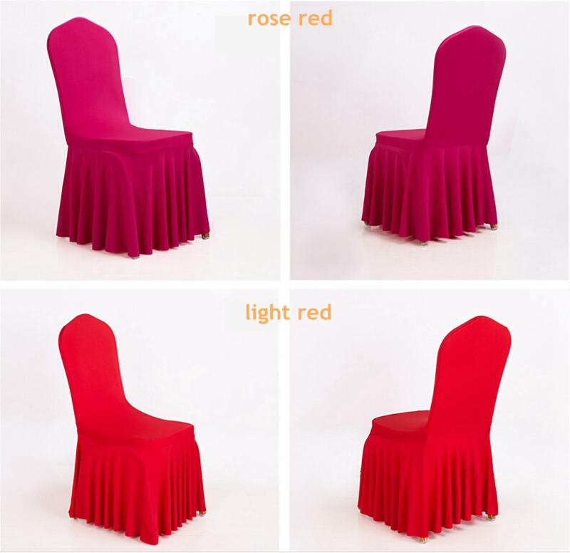 factory customized Hotel Slippers China Suppliers - Dining room  banquetwedding chair covers spandex chair covers – Meishi