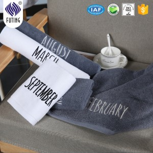 Wholesale embroidery towel with customized log