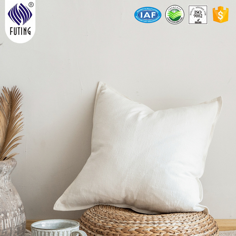 Factory Outlets Five Star Hotel Supplies - hot selling decorative outdoor polyester sofa chair plain colors cushion – Meishi