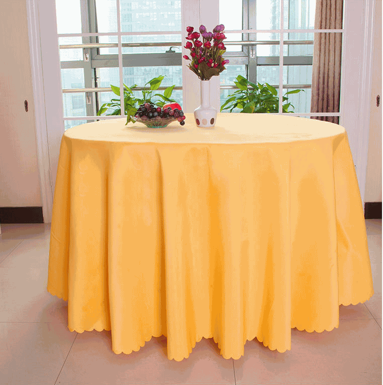 Cheapest Factory Wholsale Mattress Pad - Microfiber round high bar cocktail table cloth table cover for wedding – Meishi