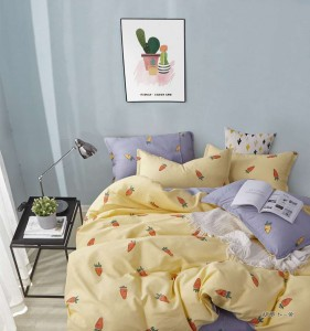 China Guangzhou Factory Wholesale High Quality Full Size Duvet Cover Set With Deep Closure