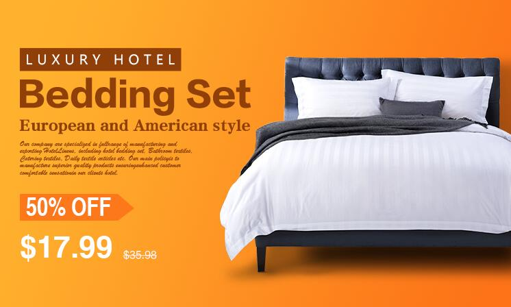 What items are usually including in a bedding set?