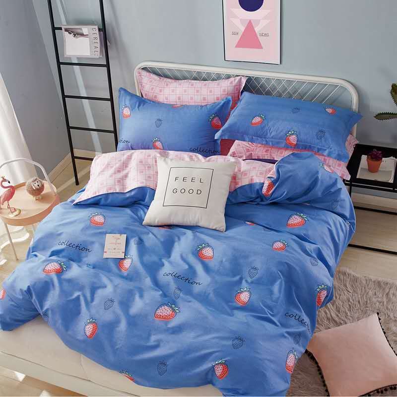 China Supplier Wholesale Cotton Floral Comforter and Easy Care Queen Size Duvet Cover Set with Competitive Price Featured Image