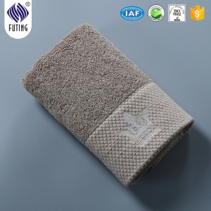 100% Cotton White Face Hand Spa Hotel Bath  Towelhotels