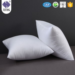 Hotel high quality white soft  Bed Cushion pillow