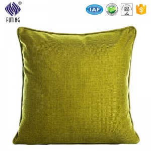 wholesale 100%polyester customized size & different colors cushion