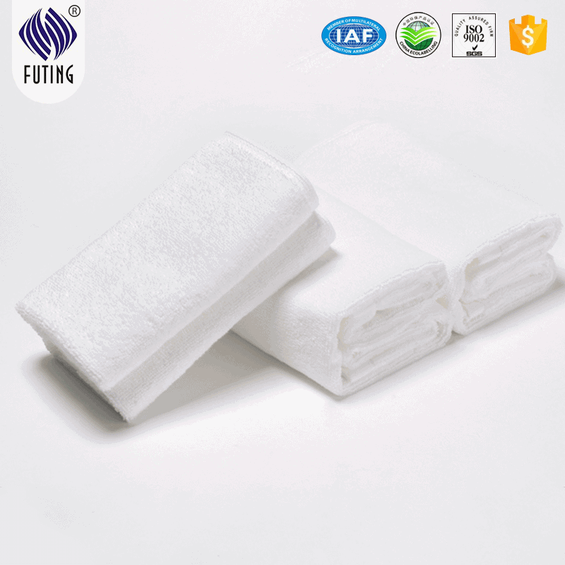 Factory best selling Floral Bed Sheet Designs - 21S White cheap towel sets 3 star hotel towel – Meishi