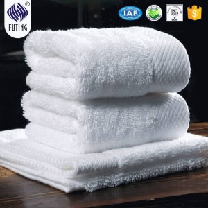 100% cotton dobby towel for hotel