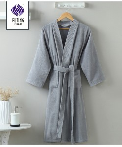 Cotton Towel Cloth nightgown for hotel home use