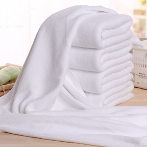 Top Quality Hotel Hand Towel Manufacturer - Wholesale cotton white towel  – Meishi