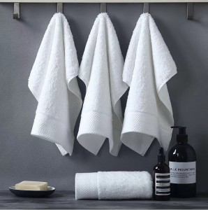 Factory For Women Long Satin Robes - Luxury  soft hotel bath towel with border – Meishi