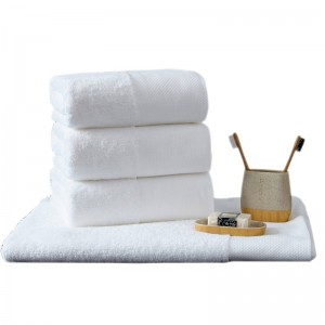 OEM/ODM China Bathrobe Cotton - Soft terry 16S plain white face towel for hotel  – Meishi