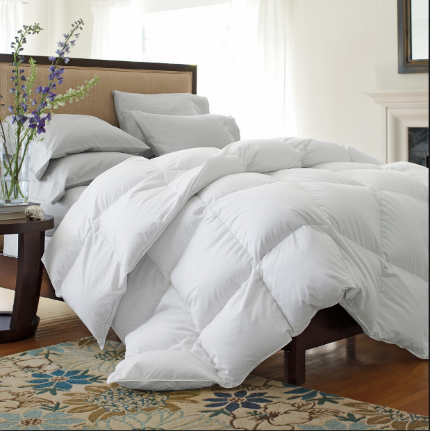 What filling does the duvets/pillows usually use?