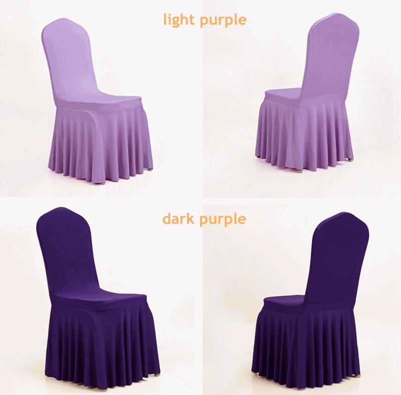 Super Lowest Price 100% Cotton Fitted Sheets - Dining room  banquetwedding chair covers spandex chair covers – Meishi